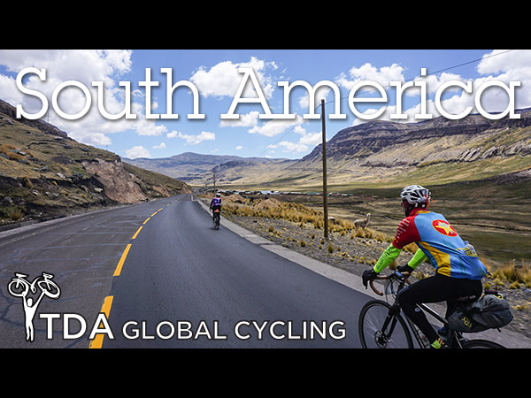 """Why cycle South America?"" A short video"