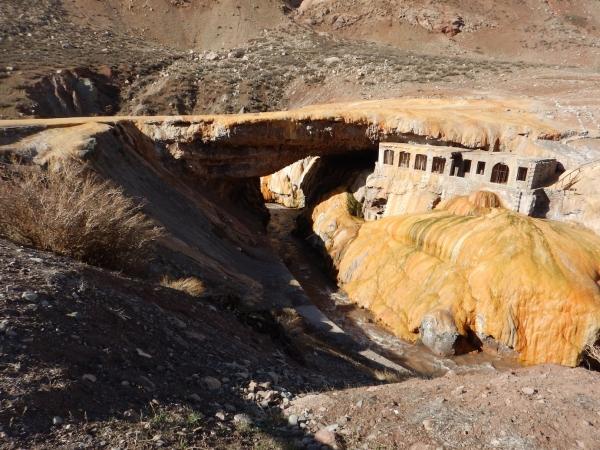 Ancient Incan bridge