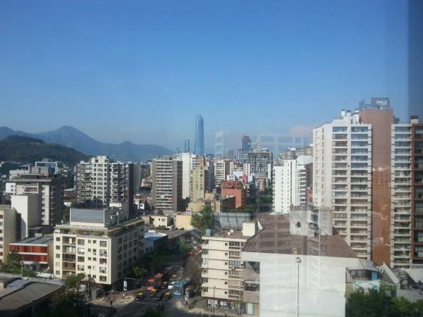 Santiago skyline in daylight