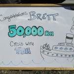 50,000 Kilometres with Captain Brett Lanham