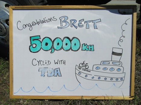 50,000 Kilometres with Captain Brett Lanham