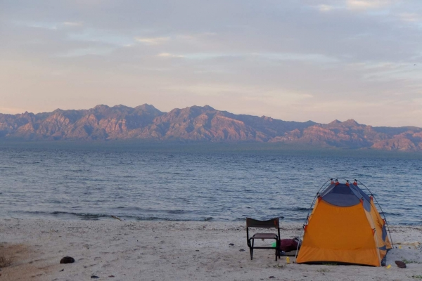 A great spot for camping in Baja