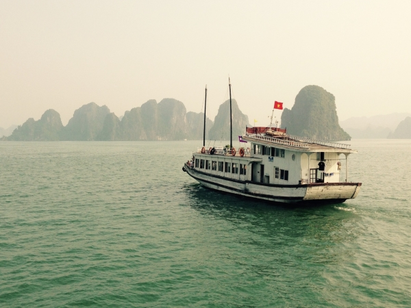 Boat in Ha Long Bay