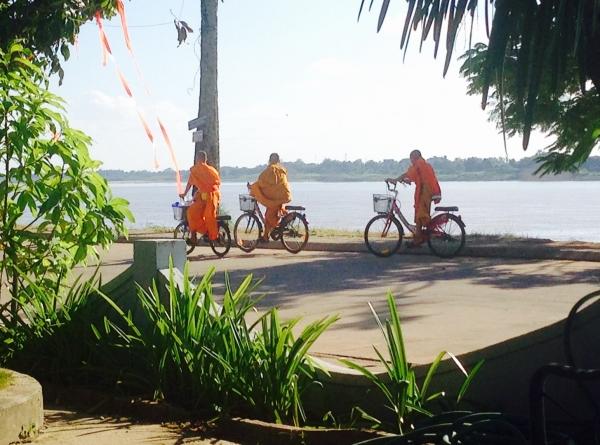 Monks & bikes