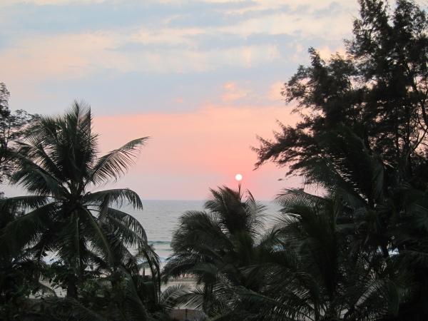 sunset ganpatipule