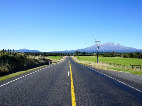 Planning a Cycling Route on New Zealand's North Island
