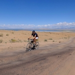 Riding Mongolian Dirt Roads