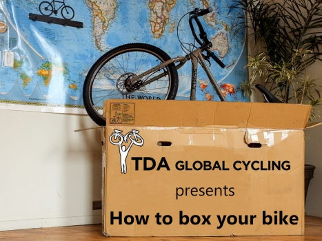 How to box your bicycle for your next cycle touring adventure
