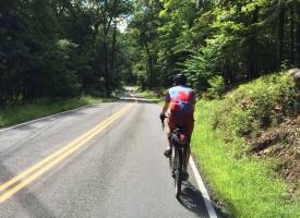 Bob riding in NJ