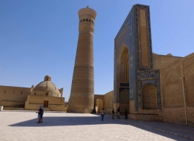 Stunning architecture in Bukhara