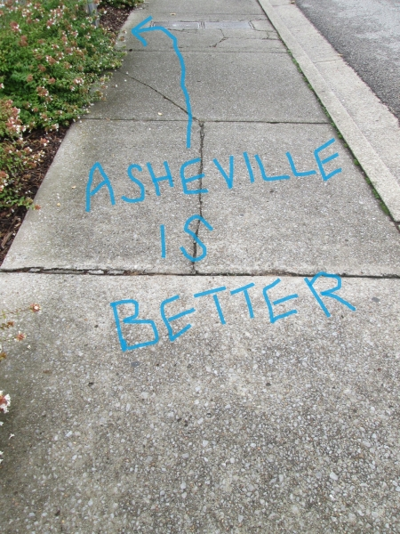Asheville is better
