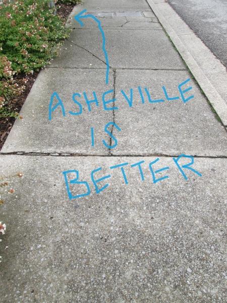 Asheville is better