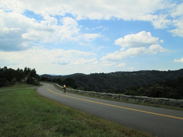 Tom on the Blue Ridge
