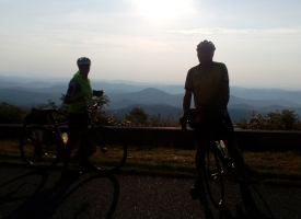 Wayne and Gennesse in the morning on the Parkway