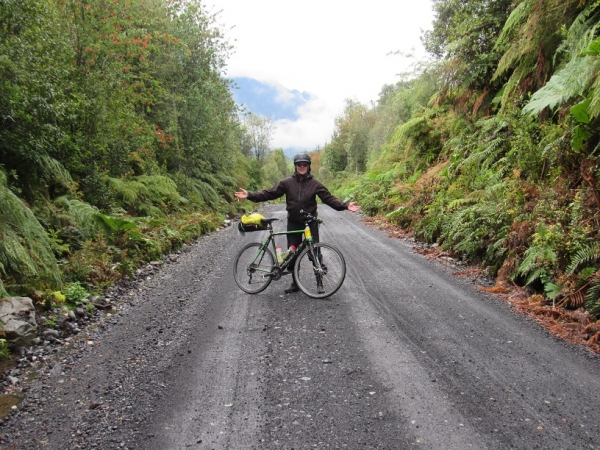 offroad thru temperate rainforest