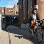 First Scholarship Student Prepares for Central American Cycling Adventure