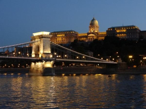 7. Budapest at twilight