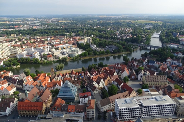 For this photo we needed to make 768 steps to the tower in Ulm´s cathedrale