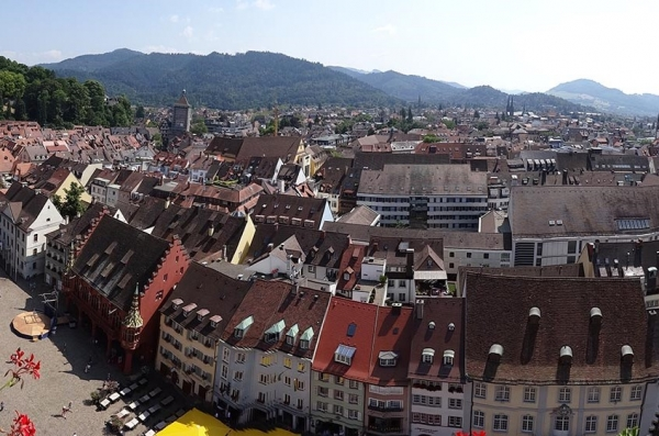 View from Freiburg´s munster