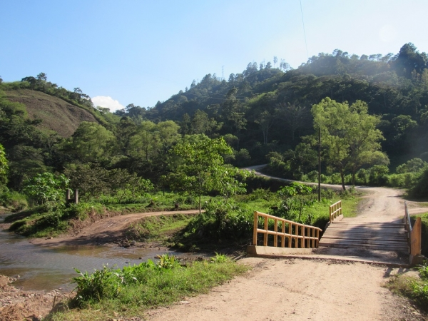 bridge near pan american hwy