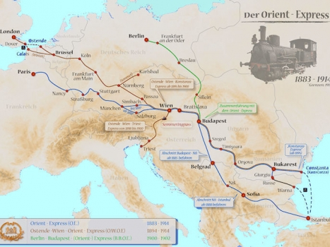 2017 Orient Express to Finish at the Black Sea