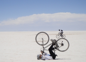 depth perception in the Salt Flats