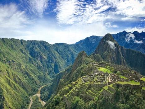Exploring Machu Picchu on the South American Epic