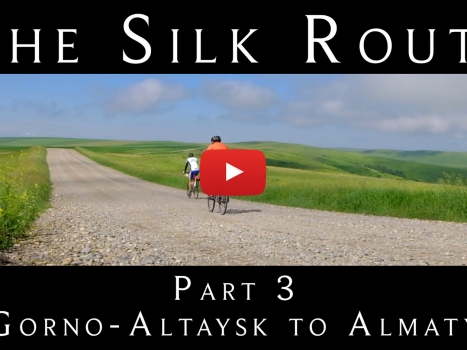 Cycling the Silk Route: Part 3 of our 9-Part YouTube Series