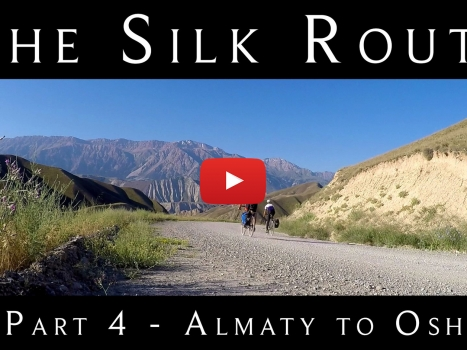 Cycling the Silk Route: Part 4 of our 9-Part YouTube Series