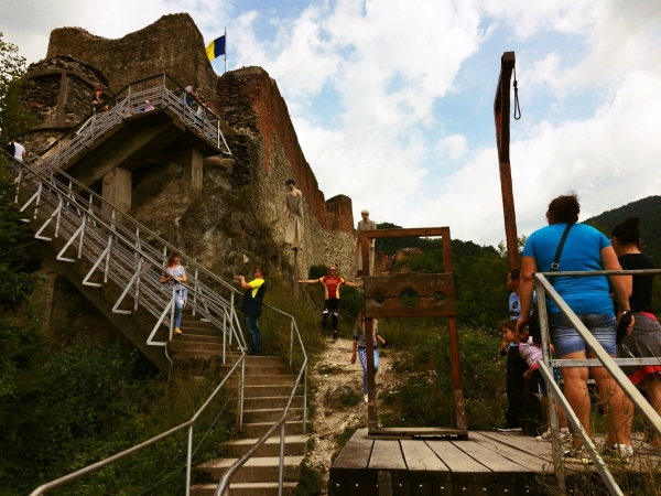 Dracula Castle Poienari