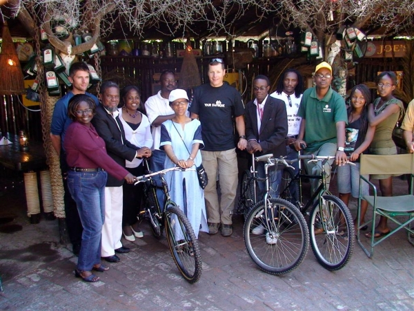 Windhoek donation 2008