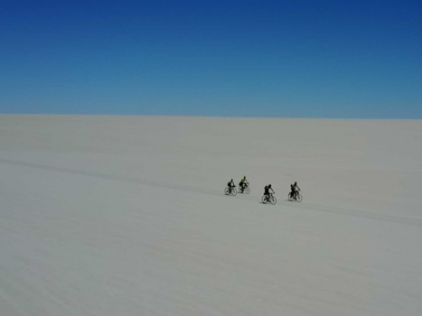 Cycling The Uyuni Salt Flats