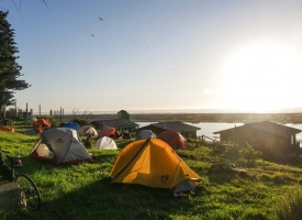 A beautiful camp with a view of the Pacific Ocean in Chile-2