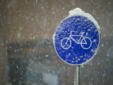 Happiness Is Riding Your Bicycle When It Is -20C