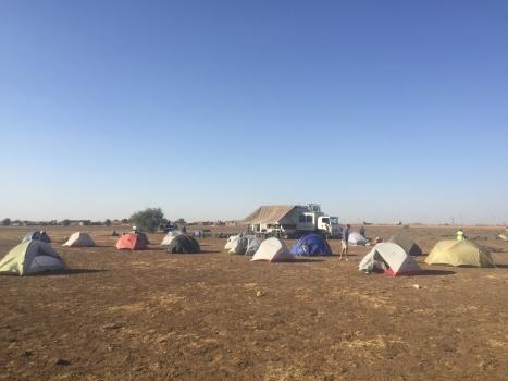 The Tent Shuffle