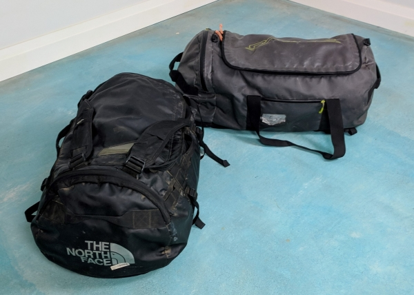On our camping tours you are allowed two 90 litre duffel bags. On the  all-hotel tours you are allowed one 100 litre duffel bag. Each bag must  weigh no more ... 988a3e75318b9