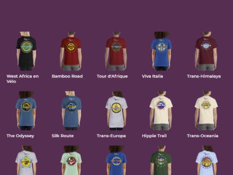 The TDA Global Cycling t-shirt shop