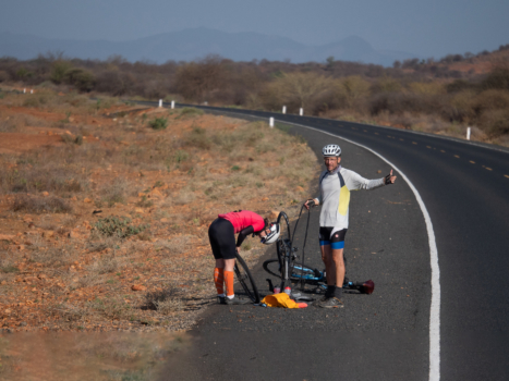 How to Fix a Flat Tire on your Next Bicycle Tour