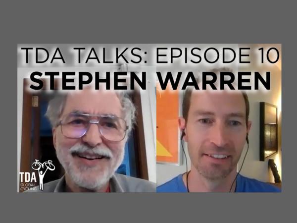 Episode 10 of TDA Talks with Stephen Warren